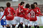 Urawa Red Diamonds Ladies Team Group ,.MARCH 23, 2013 - Football/Soccer : 2013 Plenus Nadeshiko League,1st sec match between Urawa Reds Diamonds Ladies 3-0 FC Osaka Takatsuki Speranza at Urawakomaba Stadium, Saitama, Japan. (Photo by Jun Tsukida/AFLO SPORT) [0003].