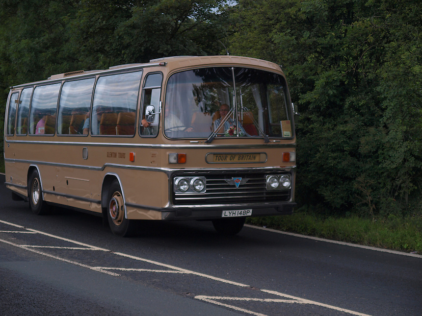 AEC Coach Tour of Britain - 1975