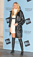 Petra Nemcova at the Skate at Somerset House with Fortnum &amp; Mason VIP launch party, Somerset House, The Strand, London, England, UK, on Wednesday 16 November 2016. <br /> CAP/CAN<br /> &copy;CAN/Capital Pictures /MediaPunch ***NORTH AND SOUTH AMERICAS ONLY***