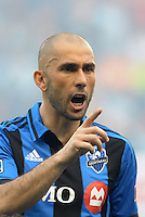 KANSAS CITY, KS - June 1, 2013:<br /> Marco Di Vaio (9) forward Montreal Impact.<br /> Montreal Impact defeated Sporting Kansas City 2-1 at Sporting Park.