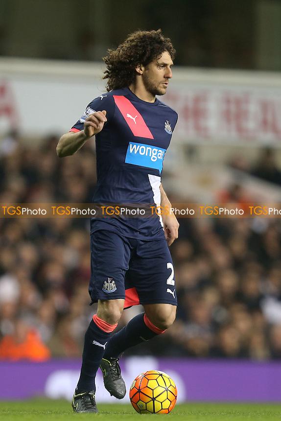 Fabricio Coloccini of Newcastle United during Tottenham Hotspur vs Newcastle United at White Hart Lane