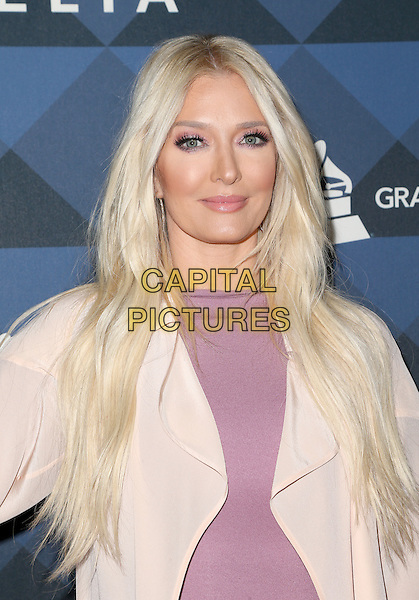 Hollywood, CA - February 12 Erika Jayne Attending Delta Air Lines Celebrates 2016 GRAMMY Weekend at NeueHouse Los Angeles On February 12, 2016.  <br /> CAP/MPI/RTNSadou<br /> &copy;RTNSadou/MPI/Capital Pictures