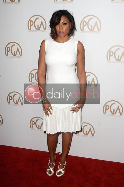 Taraji P. Henson<br /> at the 2017 Producers Guild Awards, Beverly Hilton Hotel, Beverly Hills, CA 01-28-17<br /> David Edwards/DailyCeleb.com 818-249-4998