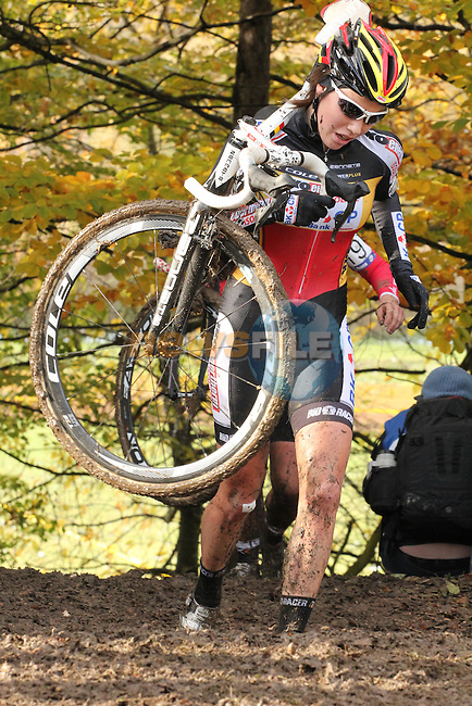 Sanne Cant had a good day finishing 7th.