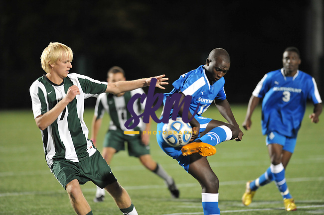 With 2:45 remaining in the second OT, Stevenson scored on a penalty shot to win 1-0 over Marymount.