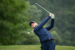 Emily Kristine Pedersen of Denmark tees off during Round 1 of the World Ladies Championship 2016 on 10 March 2016 at Mission Hills Olazabal Golf Course in Dongguan, China. Photo by Victor Fraile / Power Sport Images