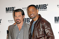 Will Smith and Josh Brolin attending the MEN IN BLACK 3 photocall held at the Hotel Adlon in Berlin, Germany, 14.05.2012...Credit: Semmer/face to face /MediaPunch Inc. ***FOR USA ONLY***