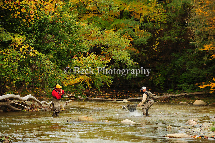 FLY FISHING IN THE ERIE FOR STEELHEAD