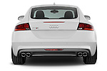 Straight rear view of a 2008 - 2010 Audi TTS 3 Door Coupe 2WD