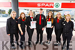 The staff of Byrnes Spa Caherslea who received the Customer Care Forecourt Service Award. <br /> L to r: Selina Morris, Emma Molloy, Deirdre Fitzgibbon, Darragh McGolf, Megan Enright, Audrey Fortune and Joan Bowler.
