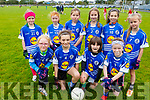 The Aunascaul U10's taking part in the Carmel O'Connor Memorial Blitz in Na Gaeil on Saturday.