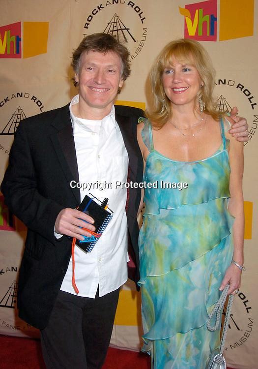 Steve Winwood and wife Eugenie ..at the 2004 Rock and Roll Hall of Fame Award Ceremony on March 15, 2004 at the Waldorf Astoria Hotel in New York City. Photo by Robin Platzer, Twin Images