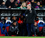 Crystal Palace's Roy Hodgson looks on dejected during the premier league match at Selhurst Park Stadium, London. Picture date 12th December 2017. Picture credit should read: David Klein/Sportimage