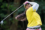 Golfer Saaniya Sharma of Indonesia during the 2017 Hong Kong Ladies Open on June 10, 2017 in Hong Kong, Hong Kong. Photo by Chris Wong / Power Sport Images.