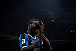 Victor Moses of Inter applauds the fans after being substituted during the Coppa Italia match at Giuseppe Meazza, Milan. Picture date: 12th February 2020. Picture credit should read: Jonathan Moscrop/Sportimage