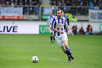 VOETBAL: HEERENVEEN: Abe Lenstra Stadion, SC Heerenveen - Feyenoord, 06-05-2012, Gerald Sibon (#35) tijdens zijn afscheidswedstrijd als prof, Eindstand 2-3, ©foto Martin de Jong