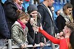 10.03.2018, Vonovia Ruhrstadion, Bochum, GER, 2.FBL., VfL Bochum vs. Holstein Kiel<br /> im Bild / picture shows: <br /> nach Ende des Spiels Marvin Ducksch (Holstein Kiel #10), bedankt sich bei den Fans <br /> <br /> <br /> <br /> Foto &copy; nordphoto / Meuter