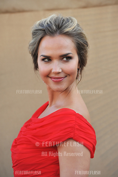 Arielle Kebbel at the CBS 2013 Summer Stars Party in Beverly Hills.<br /> July 29, 2013  Los Angeles, CA<br /> Picture: Paul Smith / Featureflash