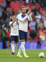 England's Harry Kane with the match ball at the end of the match<br /> <br /> Photographer Rob Newell/CameraSport<br /> <br /> UEFA European Championship Qualifying Group A - England v Bulgaria - Saturday 7th September 2019 - Wembley Stadium - London<br /> <br /> World Copyright © 2019 CameraSport. All rights reserved. 43 Linden Ave. Countesthorpe. Leicester. England. LE8 5PG - Tel: +44 (0) 116 277 4147 - admin@camerasport.com - www.camerasport.com