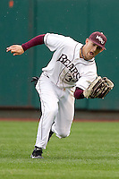 Spiker Helms (33) of the Missouri State Bears during a game vs. the Western Illinois Leathernecks at Hammons Field in Springfield, Missouri;  March 19, 2011.  Photo By David Welker/Four Seam Images