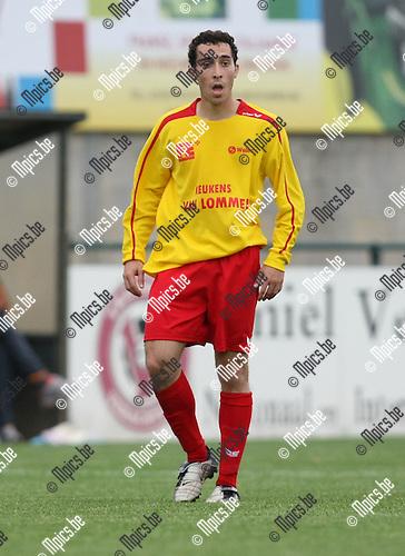 2008-08-05 / Voetbal / seizoen 2008-2009 / KFC Oosterzonen / Rodrigo Perreira..Foto: Maarten Straetemans (SMB)