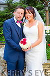 Elaine Goulding, Tralee, daughter of Willie and Margaret Goulding, and Peter Butler, Castlegregory, son of Michael and Bernie Butler were married at The Immaculate Conception rathass by Fr. Brendan Walsh on Saturday 4th July 2015 with a reception at Fels Point Hotel
