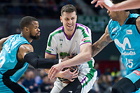 Movistar Estudiantes XXX and Unicaja Malaga  XXX during Liga Endesa match between Movistar Estudiantes and Unicaja Malaga at Wizink Center in Madrid , Spain. March 04, 2018. (ALTERPHOTOS/Borja B.Hojas) /NortePhoto.com NORTEPHOTOMEXICO