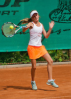 August 4, 2014, Netherlands, Dordrecht, TC Dash 35, Tennis, National Junior Championships, NJK,   Laura Smit<br /> Photo: Tennisimages/Henk Koster