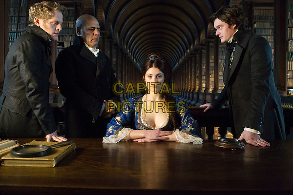 Thure Lindhardt, Uri Gavriel, Gemma Arterton & Sam Riley.in Byzantium (2012) .*Filmstill - Editorial Use Only*.CAP/NFS.Supplied by Capital Pictures.