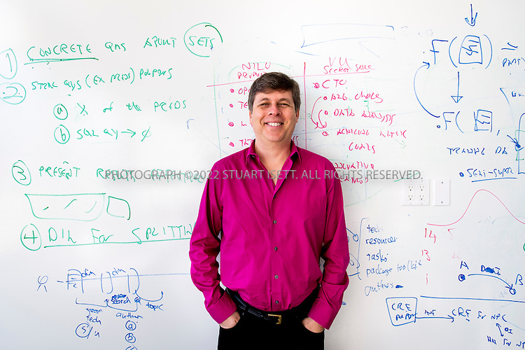 11/6/2014&mdash;Seattle, WA, USA<br /> <br /> Oren Etzioni, an Israeli-American entrepreneur and professor of Computer Science and Executive Director of the Allen Institute for Artificial Intelligence.<br /> <br /> The Allen Institute for Artificial Intelligence (abbreviated AI2) is a research institute funded by Microsoft co-founder Paul Allen to achieve scientific breakthroughs by constructing AI systems with reasoning, learning and reading capabilities. Oren Etzioni was appointed by Paul Allen in September 2013 to direct the research at the institute<br /> <br /> Photograph by Stuart Isett<br /> &copy;2014 Stuart Isett. All rights reserved.