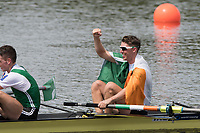 Sarasota. Florida USA.  IRL LM2-. Bow. Mark O'DONAVAN and Shane O'DRISCOLL. row away from the awards dock. A Final  at the . 2017 World Rowing Championships, Nathan Benderson Park<br /> <br /> Friday  29.09.17   <br /> <br /> [Mandatory Credit. Peter SPURRIER/Intersport Images].<br /> <br /> <br /> NIKON CORPORATION -  NIKON D500  lens  VR 500mm f/4G IF-ED mm. 200 ISO 1/800/sec. f 8