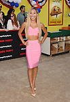 WESTWOOD, CA - AUGUST 09: YouTube personality Eva Gutowski arrives at the Premiere Of Sony's 'Sausage Party' at Regency Village Theatre on August 9, 2016 in Westwood, California.