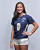 Christy Davis of Baldwin High School poses for a portrait during the Newsday 2015 varsity field hockey season preview photo shoot at company headquarters on Monday, September 14, 2015
