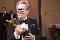 Gary Oldman at the Governors ball after the live ABC Telecast of The 90th Oscars&reg; at the Dolby&reg; Theatre in Hollywood, CA on Sunday, March 4, 2018.<br /> *Editorial Use Only*<br /> CAP/PLF/AMPAS<br /> Supplied by Capital Pictures