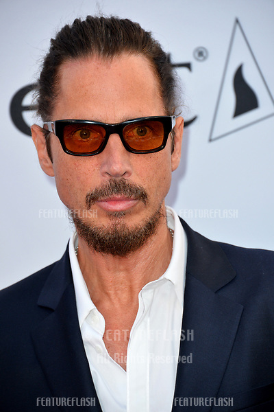 Chris Cornell at the premiere for &quot;The Promise&quot; at the TCL Chinese Theatre, Hollywood. Los Angeles, USA 12 April  2017<br /> Picture: Paul Smith/Featureflash/SilverHub 0208 004 5359 sales@silverhubmedia.com