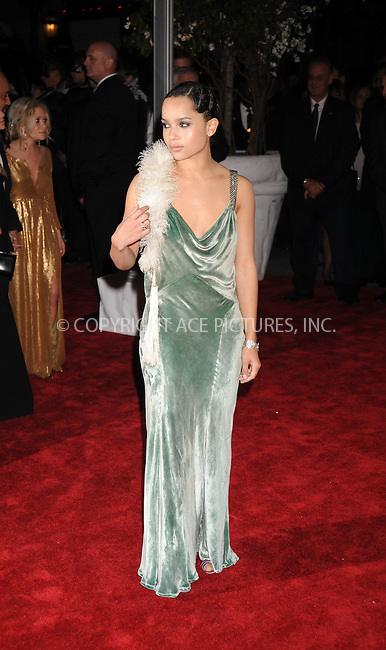 WWW.ACEPIXS.COM . . . . . ....May 5 2008, New York City....Actress Zoe Kravitz arriving at the Metropolitan Museum of Art Costume Institute Gala, Superheroes: Fashion and Fantasy, held at the Metropolitan Museum of Art on the Upper East Side of Manhattan.....Please byline: KRISTIN CALLAHAN - ACEPIXS.COM.. . . . . . ..Ace Pictures, Inc:  ..(646) 769 0430..e-mail: info@acepixs.com..web: http://www.acepixs.com