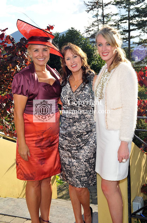 Pictured at the Randles Hotel, Elegance & Decadence Après Race Partyon Thursday evening were Lora Beth Malloy, Deirdre and Aoife Sheehy..Picture by Don MacMonagle..PR photo from Randles Hotel
