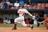 Illinois State Redbirds Logan Leverett (33) during a game against the Bowling Green Falcons on March 11, 2015 at Chain of Lakes Stadium in Winter Haven, Florida.  Illinois State defeated Bowling Green 8-7.  (Mike Janes/Four Seam Images)