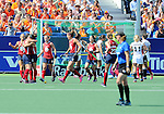 The Hague, Netherlands, June 08: During 2nd half during the field hockey group match (Women - Group B) between USA and Germany on June 8, 2014 during the World Cup 2014 at GreenFields Stadium in The Hague, Netherlands. Final score 4-1 (1-0) (Photo by Dirk Markgraf / www.265-images.com) *** Local caption ***