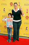 "SANTA MONICA, CA. - November 16: Actress Camryn Manheim and son Milo arrive at the 11th Anniversary Of P.S. Arts ""Express Yourself 2008"" at the Barker Hanger at the Santa Monica Airport on November 16, 2008 in Santa Monica, California."