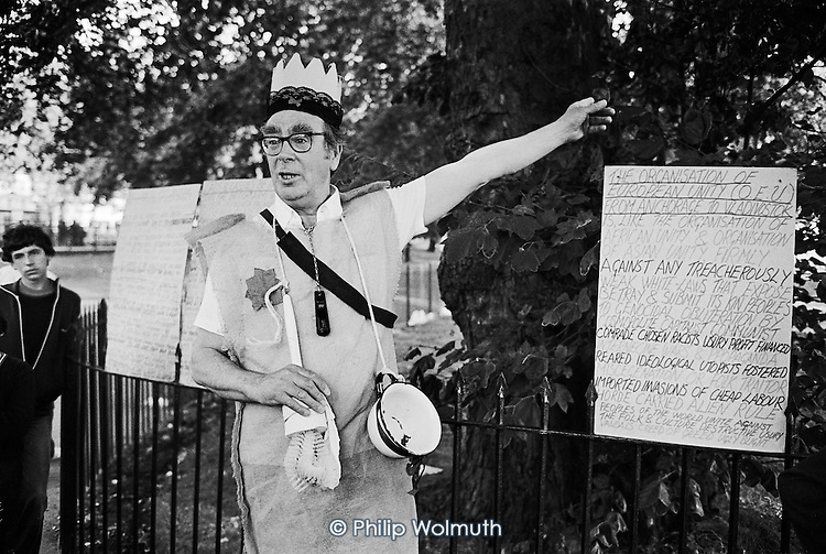 Frank, Speakers' Corner, Hyde Park, London.