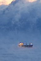 &quot;Ship among the Sea Smoke&quot;<br />