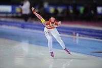 SCHAATSEN: HEERENVEEN: IJsstadion Thialf, 16-11-2012, Essent ISU World Cup, Season 2012-2013, Ladies 3000 meter Division B, Viktoria Rusalyeva (RUS), ©foto Martin de Jong