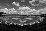 (Ft. Myers, FL, 03/10/15) Boston Red Sox host a Major League Baseball spring training baseball game at JetBlue Park in Ft. Myers, Florida on Tuesday, March 10, 2015. Photo by Christopher Evans