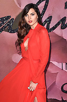 Doina Ciobanu at the Fashion Awards 2016 at the Royal Albert Hall, London. December 5, 2016<br /> Picture: Steve Vas/Featureflash/SilverHub 0208 004 5359/ 07711 972644 Editors@silverhubmedia.com