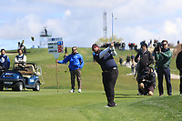 Andrew Johnston (ENG) on the 4th fairway during Round 1 of the Open de Espana 2018 at Centro Nacional de Golf on Thursday 12th April 2018.<br /> Picture:  Thos Caffrey / www.golffile.ie<br /> <br /> All photo usage must carry mandatory copyright credit (&copy; Golffile | Thos Caffrey)