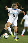 09 October 2014: North Carolina's Darcy McFarlane. The University of North Carolina Tar Heels hosted the Wake Forest University Demon Deacons at Fetzer Field in Chapel Hill, NC in a 2014 NCAA Division I Women's Soccer match. UNC won the game 3-0.