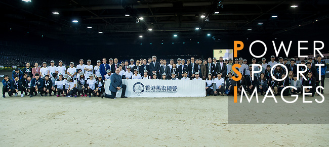 Longines Masters of Hong Kong at AsiaWorld-Expo on 10 February 2018, in Hong Kong, Hong Kong. Photo by Diego Gonzalez / Power Sport Images