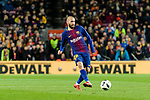 Aleix Vidal of FC Barcelona in action during the Copa Del Rey 2017-18 match between FC Barcelona and Valencia CF at Camp Nou Stadium on 01 February 2018 in Barcelona, Spain. Photo by Vicens Gimenez / Power Sport Images