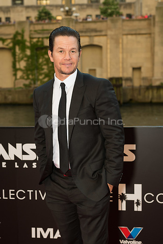 "CHICAGO, IL - JUNE 20: Actor Mark Wahlberg at the U.S. Premiere of Michael Bay's ""Transformers: The Last Knight"" at the Civic Opera House in Chicago, Illinois on June 20, 2017: Credit: Cindy Barrymore/MediaPunch"